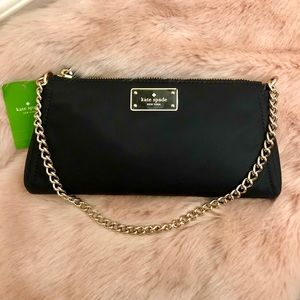 Kate Spade ♠️ NWT Nylon Clutch/Crossbody Bag